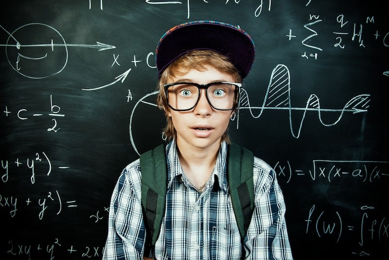 Stressed teenage boy. Exam Stress and Anxiety - how parents can help
