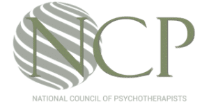 National Council of Psychotherapists Logo of which Holly Hartley is a Member
