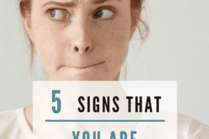 5 Signs that YOU are the Passive Aggressive Problem! If there is conflict with a co-worker, boss, mother in law or husband, you might think that they are being passive aggressive... but it could be you! Learn the signs to spot your passive aggressive behavior and how to fix it. #passiveaggressive #alwaysright #motherinlaw #boss