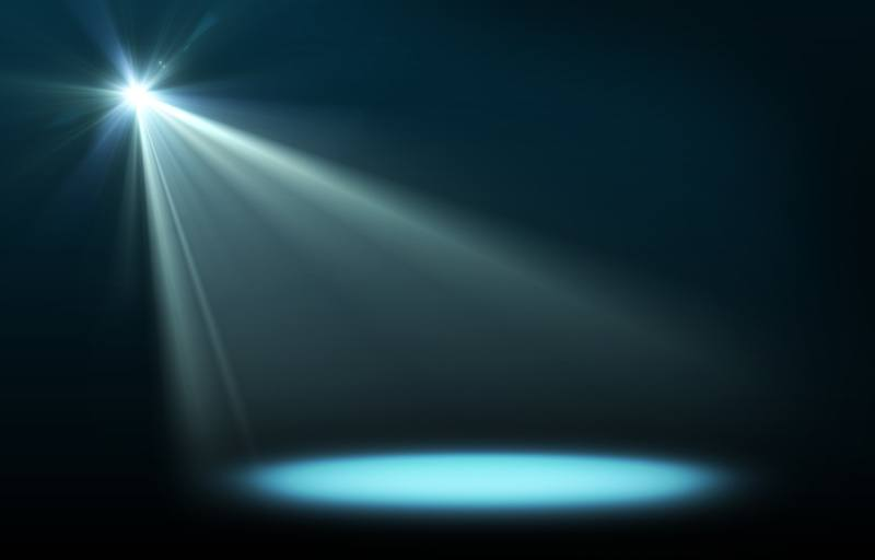 The Spotlight. Helps you get perspective on life.