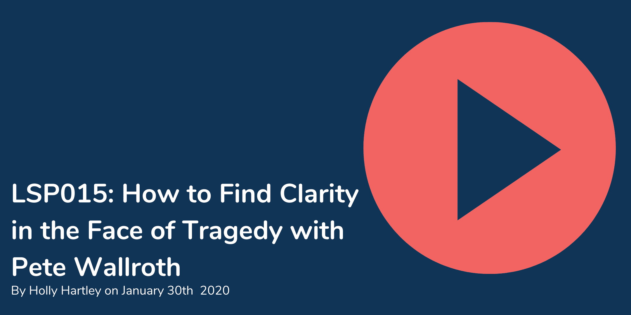 How to find clarity