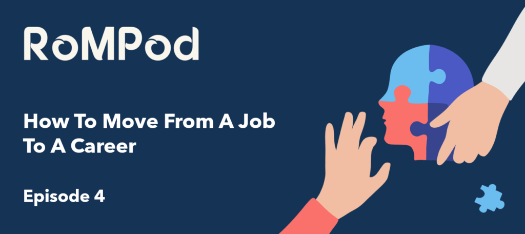 How To Move From A Job To A Career